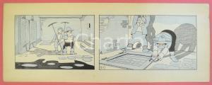 1950 ca DUTCH COMIC by A. REUVERS Original comic strip n.21 - ORIGINAL ART