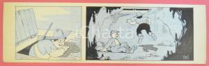 1950 ca DUTCH COMIC by A. REUVERS Original comic strip n.22 - ORIGINAL ART