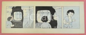 1950 ca DUTCH COMIC by A. REUVERS Original comic strip n.28 - ORIGINAL ART