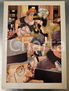 1991 Dick MATENA - Das Leben am Bahnhof - SIGNED EROTIC colour print (1) n. 208