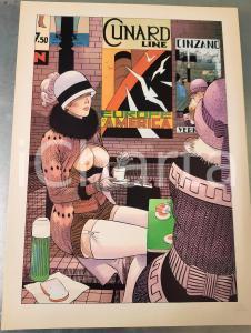 1991 Dick MATENA - Das Leben am Bahnhof - SIGNED EROTIC colour print (2) n. 208