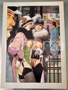 1991 Dick MATENA - Das Leben am Bahnhof - SIGNED EROTIC colour print (4) n. 208