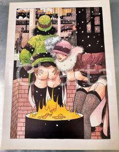 1991 Dick MATENA - Das Leben am Bahnhof - SIGNED EROTIC colour print (5) n. 208