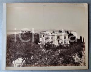 1890 ca ALEXANDRIE (EGYPTE) Place des Consuls *Photo Adolphe ZANGAKI 34x22 cm