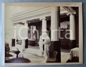 1900 ca GREECE CORFU Island - Achilleion Palace (1) Albumen photo 30x24 cm