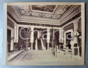 1900 ca GREECE CORFU - Achilleion Palace - Interior - Albumen photo 30x24 cm