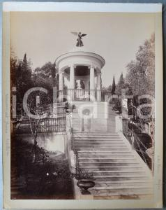 1900 ca GREECE CORFU - Achilleion Palace - Temple for Heinrich Heine PHOTO 24x30
