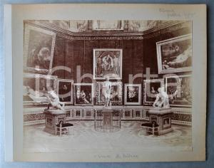 1900 ca FIRENZE Galleria degli Uffizi - La Tribuna - Foto albumina 30x24 cm