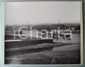 1900 ca NEWCASTLE-UPON-TYNE - Elsick works - Albumen old photo 30x24 cm