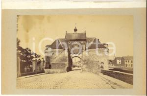 1900 ca BRUGES (BELGIUM) Porte Maréchale - Smedenpoort- Photo 23x15