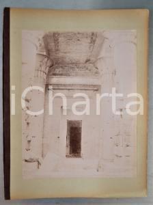1880 ca EGYPTE - Adelphoi ZANGAKI - PHYLAE Intérieur du Temple d'Isis - Photo