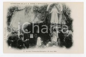 1905ca LOURDES Apparition de la T.S. Vierge - Je suis l'Immaculée Conception