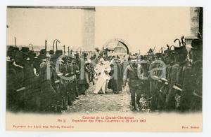 1905 ca FRANCE GRANDE CHARTREUSE Expulsion Pères Chartreux 1903 (2) Carte