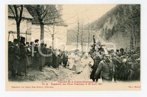 1905 ca FRANCE GRANDE CHARTREUSE Expulsion Pères Chartreux 1903 (3) Carte