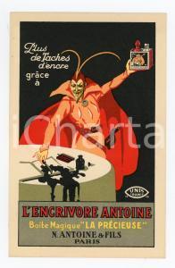 1910 ca PARIS N. Antoine ENCRIVORE ANTOINE Boite magique LA PRECIEUSE Postcard