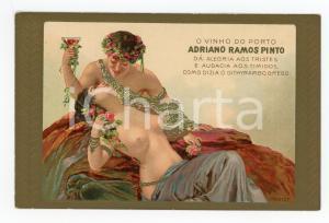 1910 ca PORTUGAL - ADRIANO RAMOS PINTO O vinho do porto ILLUSTRATED Postcard FP