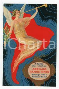1910 ca PORTUGAL - ADRIANO RAMOS PINTO O vinho do porto ILLUSTRATED Postcard