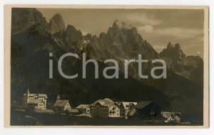 1925 SAN MARTINO DI CASTROZZA (TN) Veduta del paese - Cartolina FP VG