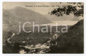 1912 STORO Frazione LODRONE Panorama con Lago d'Idro - Cartolina FP VG