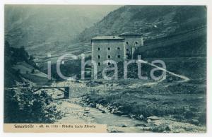 1920 ca FENESTRELLE (TO) Ridotta di Carlo Alberto di Savoia - Cartolina FP NV