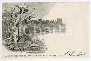1899 CASTELFRANCO VENETO VII Centenario della fondazione - Cartolina ILLUSTRATA