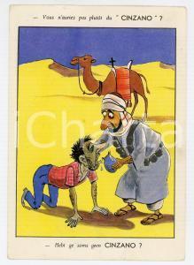 1950 ca FRANCE Vous n'auriez pas plutot du CINZANO - Carte postale ILLUSTRÉE FG