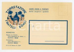 1950 ca GENOVA Torrefazione FRATELLI BOASI Moka modeida - Pubblicitario
