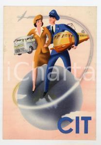 1950ca BELGIQUE - CIT Compagnia Italiana Turismo - Carte postale ILLUSTRÉE FG NV