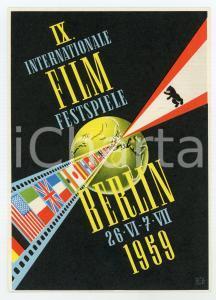 1959 BERLIN Internationale Film Festspiele - Original vintage POSTCARD
