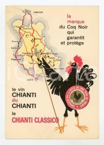 1950 ca CHIANTI Grandi Cantine Castellina - Chianti Classico BERTOLLI Cartolina