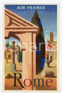 1950 ca AIR FRANCE Rome - Carte postale ILLUSTRÉE FG NV