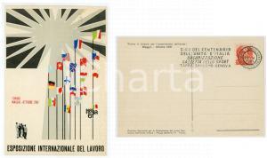 1961 TORINO - ITALIA 61 Esposizione Internazionale del Lavoro - Cartolina FG NV