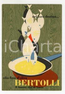 1953 OLIO BERTOLLI Illustrazione di Erberto CARBONI - Cartolina FG NV