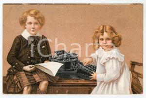 1907 BRUXELLES Compagnie de la machine a écrire YOST Carte postale ILLUSTRÉE FP