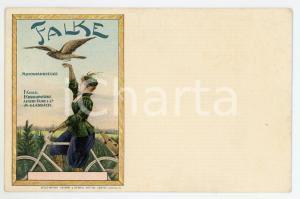 1900 ca FALKE Motorfahrzeuge - Albert Falke & Co - Vintage postcard advertising