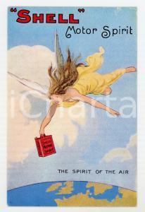 1920 ca SHELL Motor Spirit - The spirit of the air *Original vintage postcard