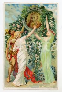 1910 ca DUNLOP Der Erfinder des Pneumatik *Original vintage postcard advertising