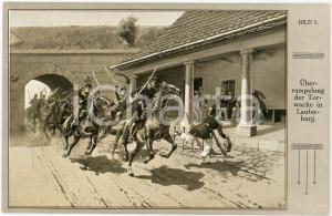 1920 ca DEUTSCHLAND Überrumpelung der torwache in Lauterburg - Postcard BILD I
