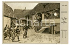 1920 ca DEUTSCHLAND Der überfall auf dem Schirlenhof - Postcard BILD VII