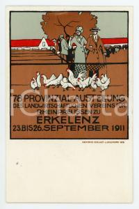 1911 ERKELENZ (D) 78. Provinzial Ausstellung Landwirtschaftl. Verein *Postcard