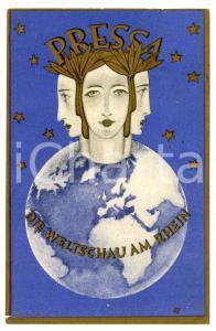 1928 PRESSA KÖLN - Die Weltschau Am Rhein - Press Exhibition - Postcard