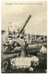 1930 REDIPUGLIA (GO) Cimitero militare agli invitti della III Armata - Cartolina