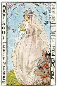 1923 MAY - AOUT - DECEMBRE The Bride - Ill. Rie CRAMER Carte postale FP NV