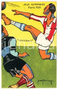 1924 PARIS Jeux Olympiques - Football - Postcard illustrated H. L. ROOWY
