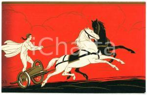 1920 ca RED STAR LINE Ancient Greece - Charioteer - Original old postcard