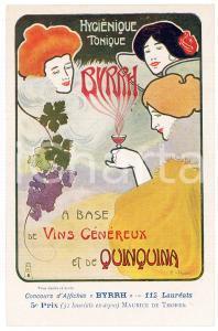 1910ca BYRRH Tonique hygienique Illustration by Maurice DE THOREN Carte Postale