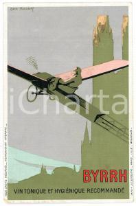 1910ca BYRRH Tonique hygienique - Illustration by René ROUSSEL Carte Postale FP
