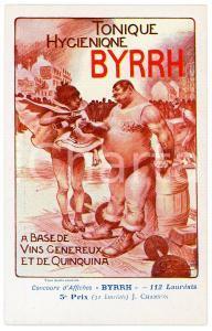 1910ca BYRRH Tonique hygienique - Illustration by J. CHAMSON Carte Postale FP
