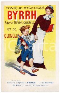 1910ca BYRRH Tonique hygienique - Illustration by Cyprien BOULET Carte Postale