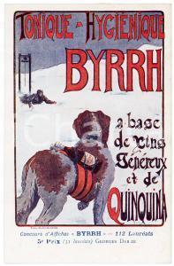 1910ca BYRRH Tonique hygienique - Illustration by Georges DEB ZE Carte Postale